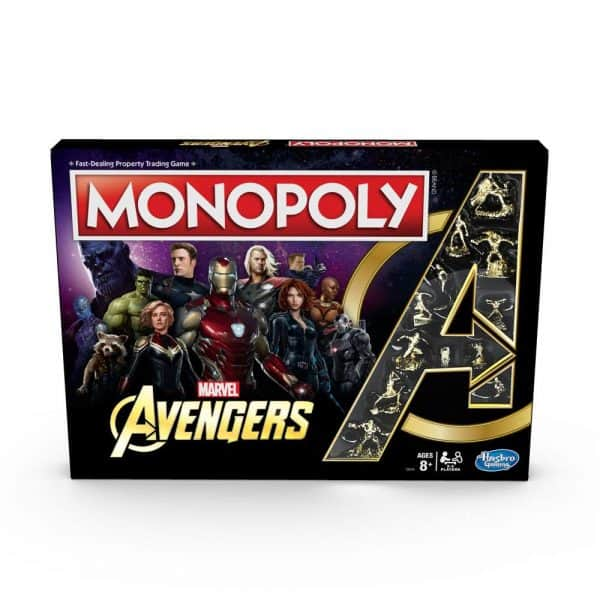 Настолна Игра Avengers Монополи Monopoly