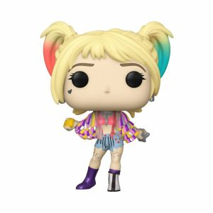Funko POP! Фигурка Birds of Prey - Harley Quinn (Caution Tape) 9 cm POP! Heroes