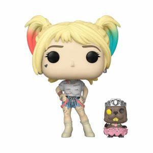 Funko POP! Фигурка Birds of Prey - Harley Quinn & Beaver 9 cm POP! & Buddy