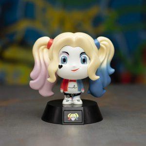 Лампа Modern Harley Quinn Suicide Squad 3D Icon Light 10 cm