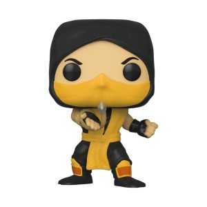 Funko POP! Фигурка Mortal Kombat - Scorpion 9 cm POP! Games