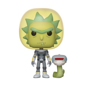 Funko POP! Фигурка Rick and Morty - Space Suit Rick 9 cm POP! Animation