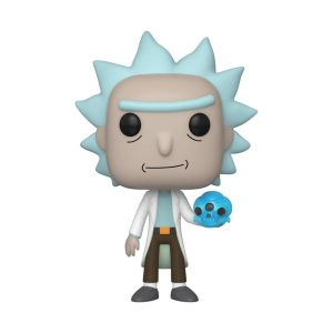 Funko POP! Фигурка Rick and Morty - Rick with Crystals 9 cm POP! Animation