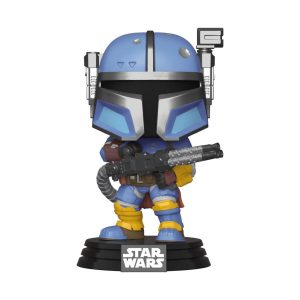 Funko POP! Фигурка Star Wars The Mandalorian - Heavy Infantry Mandalorian 9 cm POP! TV