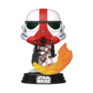 Funko POP! Фигурка Star Wars The Mandalorian - Incinerator Stormtrooper 9 cm POP! TV