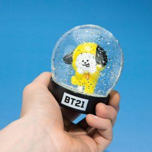 Снежно кълбо BT21 - Chimmy 8 cm Characters Snow Globe Преспапие BTS