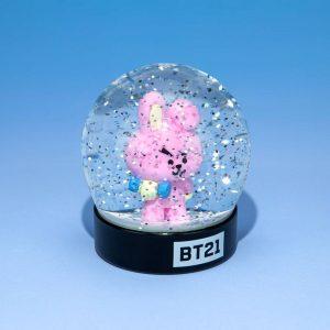 Снежно кълбо BT21 - Cooky 8 cm Characters Snow Globe Преспапие BTS