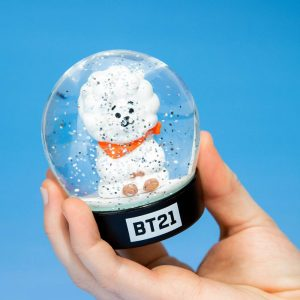 Снежно кълбо BT21 - RJ 8 cm Characters Snow Globe Преспапие BTS