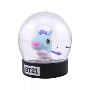 Снежно кълбо BT21 - Mang 8 cm Characters Snow Globe Преспапие BTS