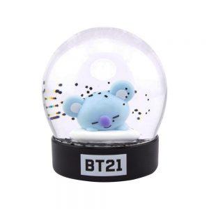Снежно кълбо BT21 - Koya 8 cm Characters Snow Globe Преспапие BTS