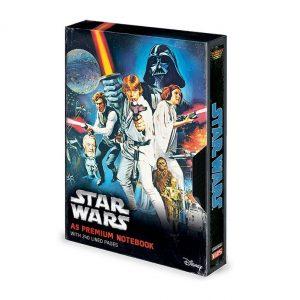 Тефтер Star Wars Premium Notebook A5 A New Hope VHS