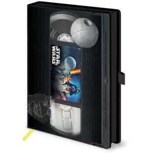 Тефтер Stranger Things Premium Notebook A5 Great Scott VHS