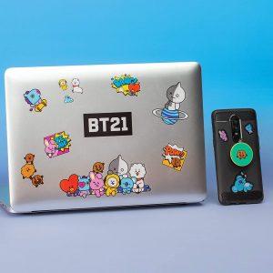 Комплект стикери BT21 Gadget Decals Iconic Characters BTS
